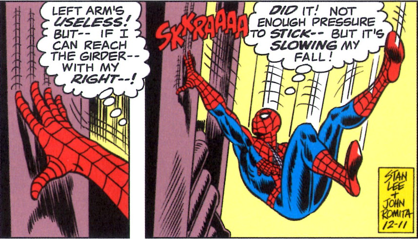 Spider-Man Thought Balloons