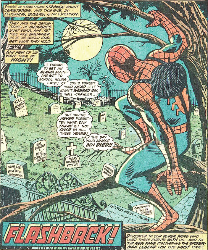 Amazing Spider-Man 181 Opening Page