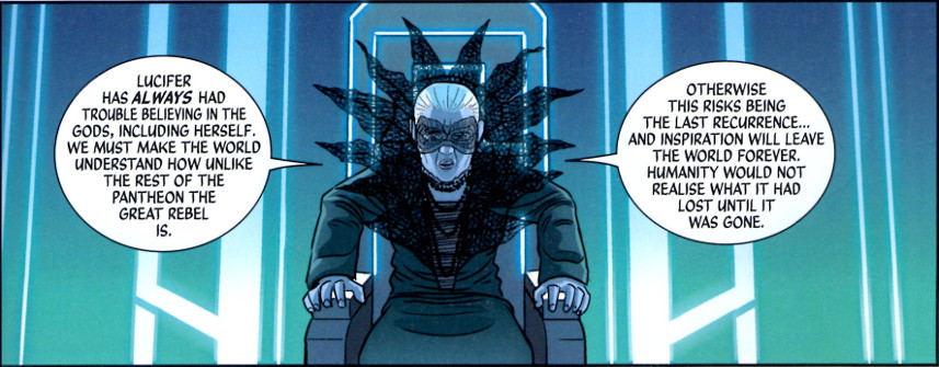 Ananke on Lucifer