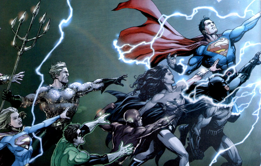 DC Rebirth - Core Group